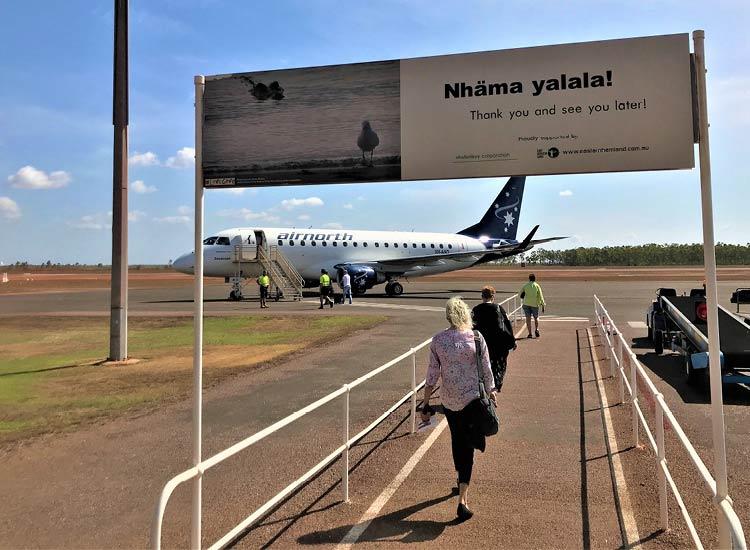 Travel to Nhulunbuy